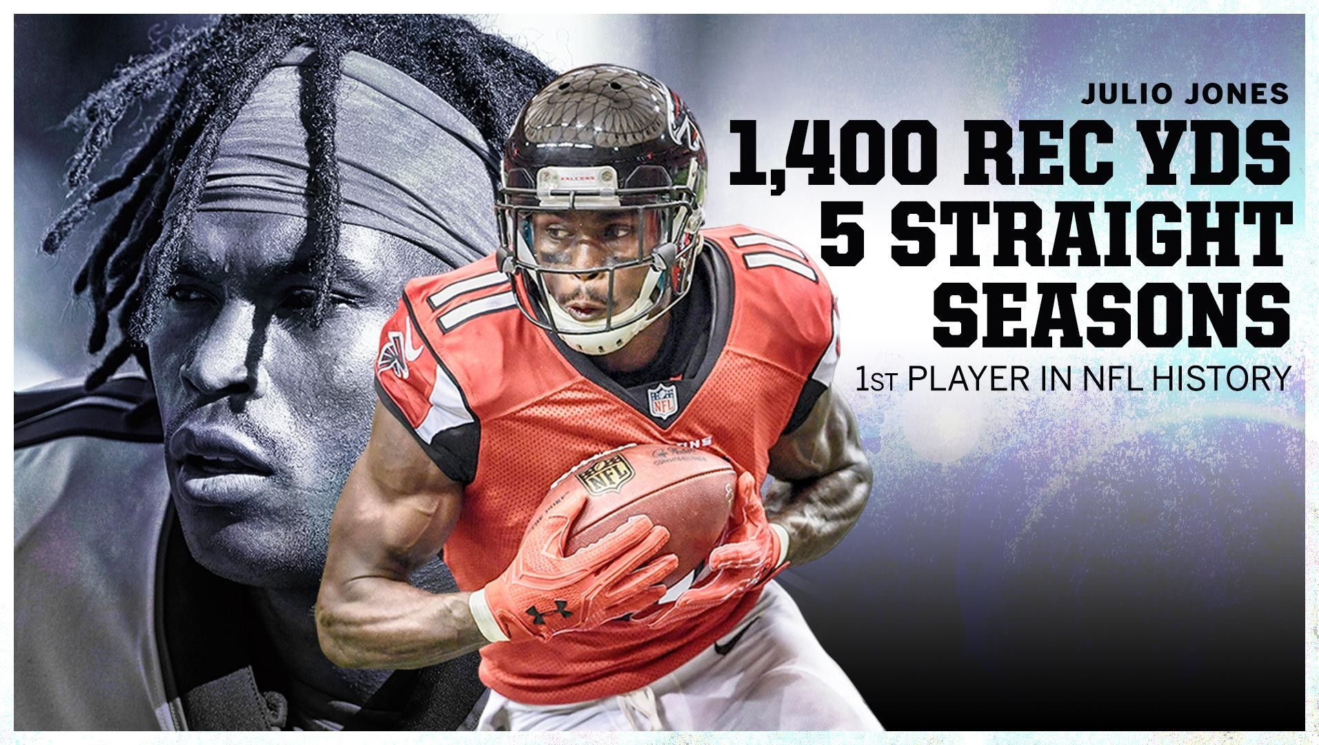 Pin By Amber Almeyda On Wonderful Nfl History Falcons Rise Up Julio Jones
