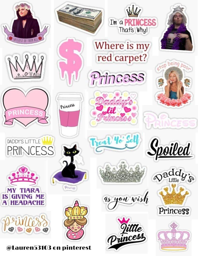 Princess Sticker Pack Princess Stickers Disney Princess Daddy S