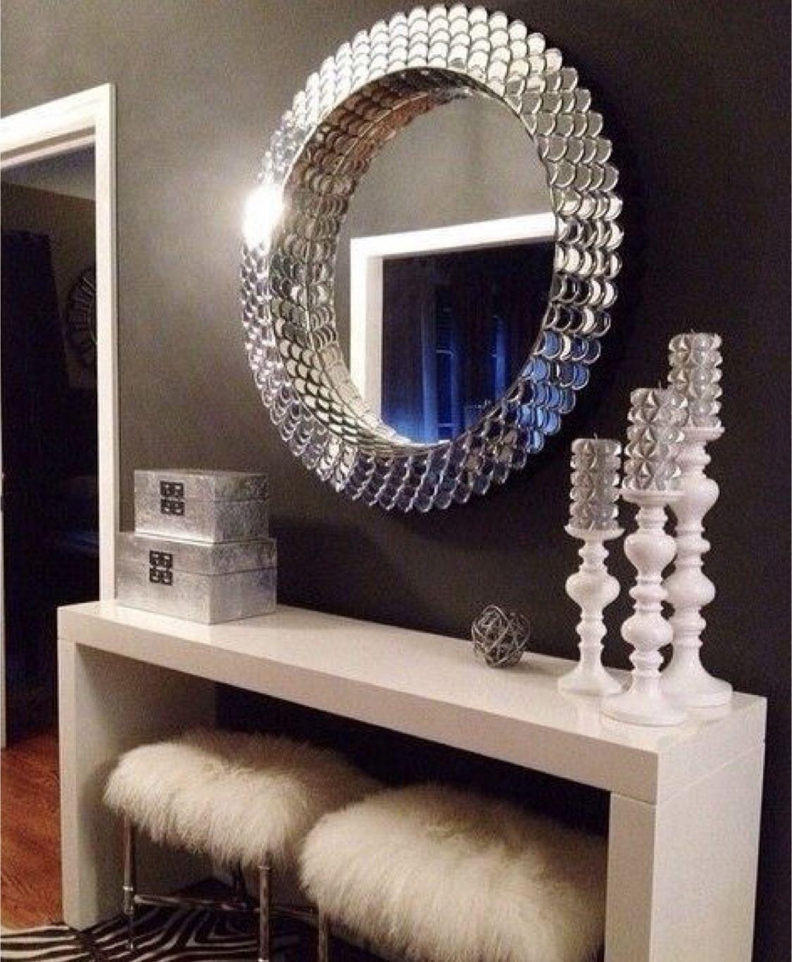 Ariel Mirror In 2020 Mirror Wall Living Room Home Decor Living Room Decor Rustic