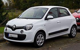 Renault Twingo Dynamique Iii Frontansicht 24 Oktober 2015