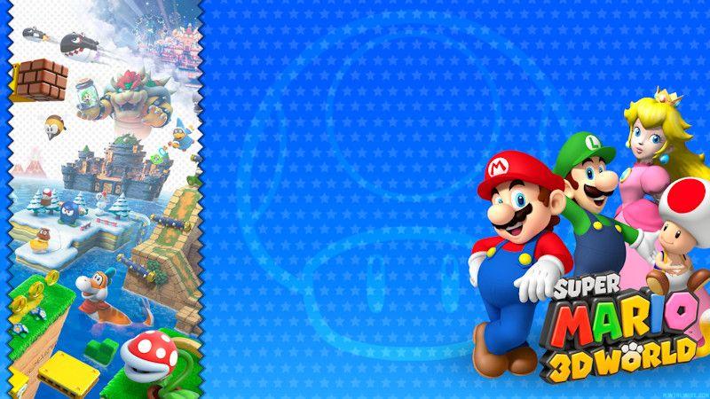 Super Mario 3d World Wallpaper Mentalmars Super Mario 3d World Wallpaper Mario