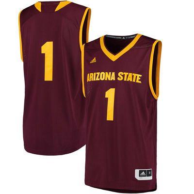 4d575f42c Arizona State Sun Devils adidas Replica Basketball Jersey - Maroon -  Fanatics.com