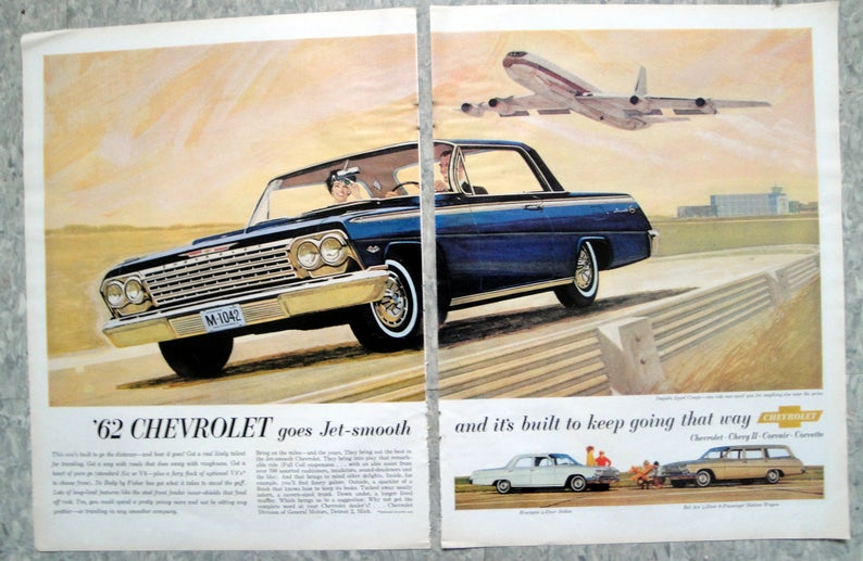 Pin On Vintage Chevrolet Ads