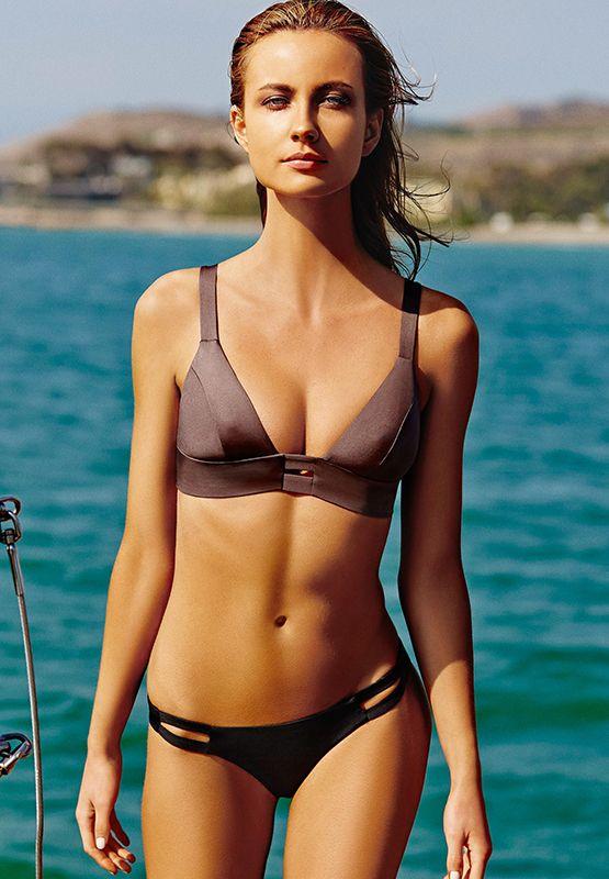 c1531e8672a06 Vitamin A Bikinis   Swimsuits 2014  Neutra Bralette Dusk ( 88)   Neutra  Hipster Bottom EcoBlack ( 75)