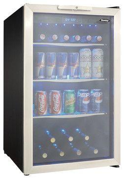 4.3 Cu.ft. Beverage Center, Holds 7 Bottles and 124 Cans, Free Standing modern-major-kitchen-appliances
