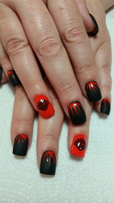 My Harley Davidson Nails Nails Now Nails Nails Desing