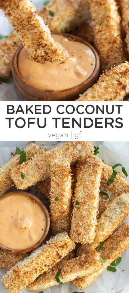 Baked Coconut Tofu Tenders These Baked Coconut TOF