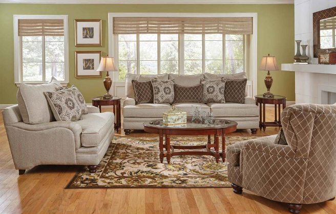 Transitional Living Room Decor with charles of london arm styles, this transitional living room