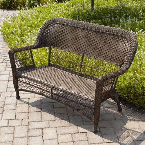 Beautiful Walmart Traditional Wicker Loveseat   Google Search