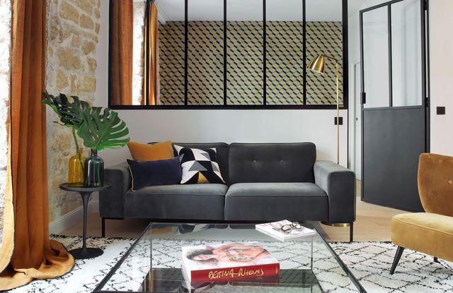 2 Pieces Paris 03 Un 45 M2 Confort Et Elegant Interior