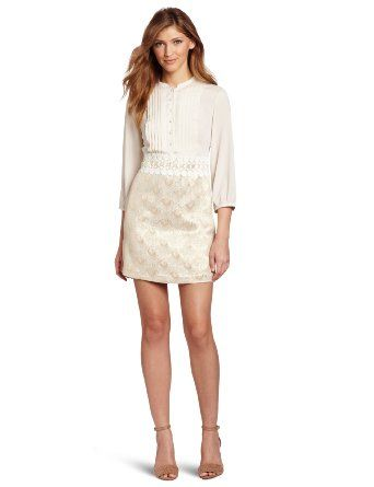Kensie Women's Brocade Dress: Clothing