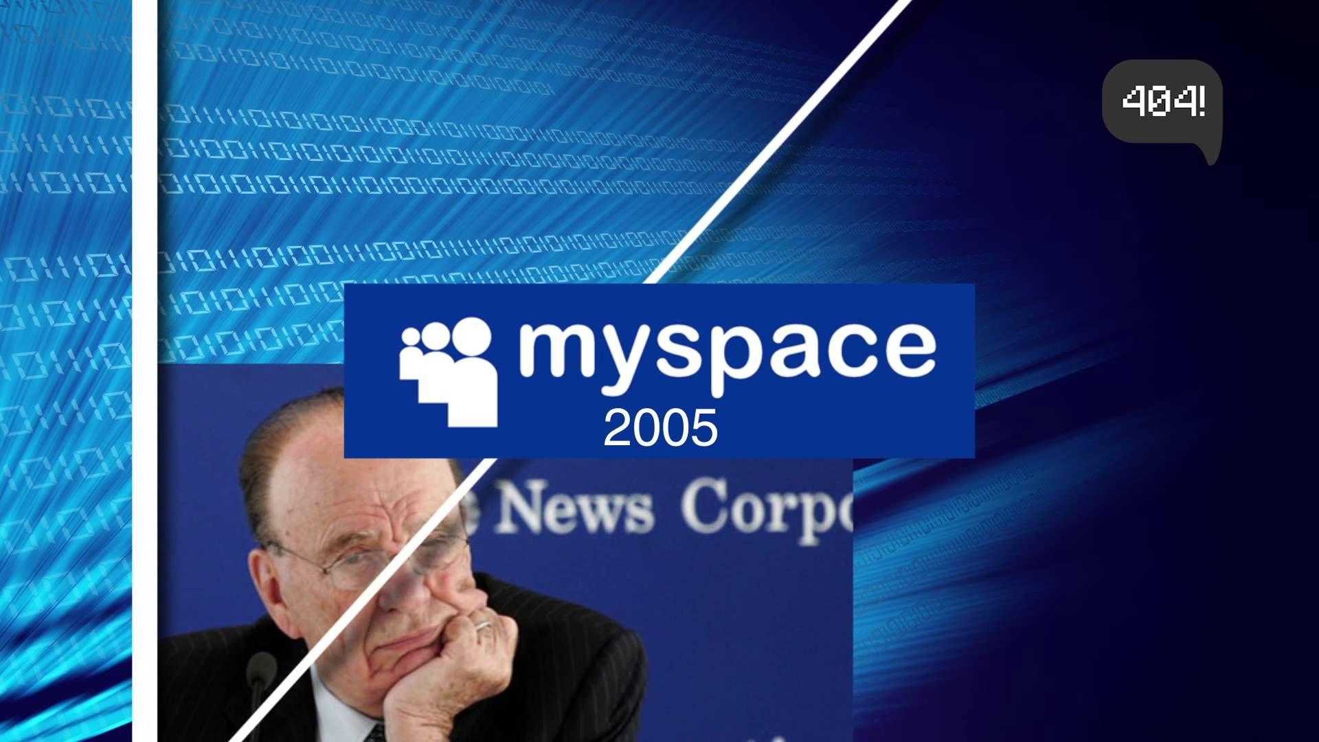 El fracaso de Myspace en 30 segundos!!