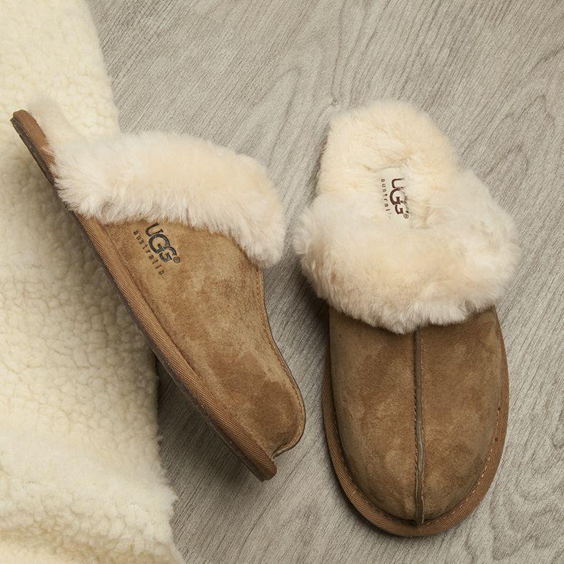 1345216fa83 womens ugg australia tan scuffette slippers | Shoes in 2019 ...