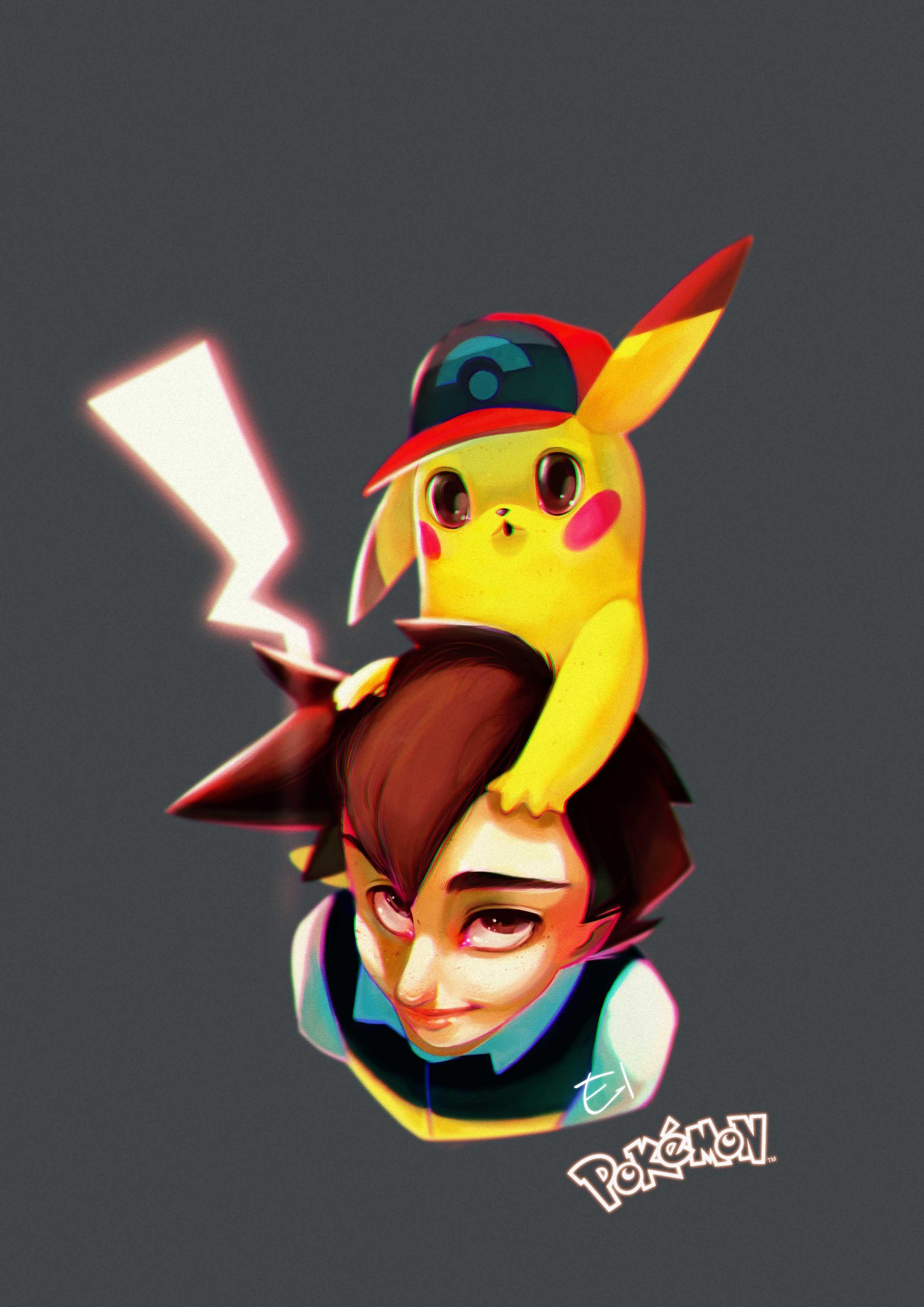 Elena-El is creating Illustration in 2019 | Cat | Pokemon