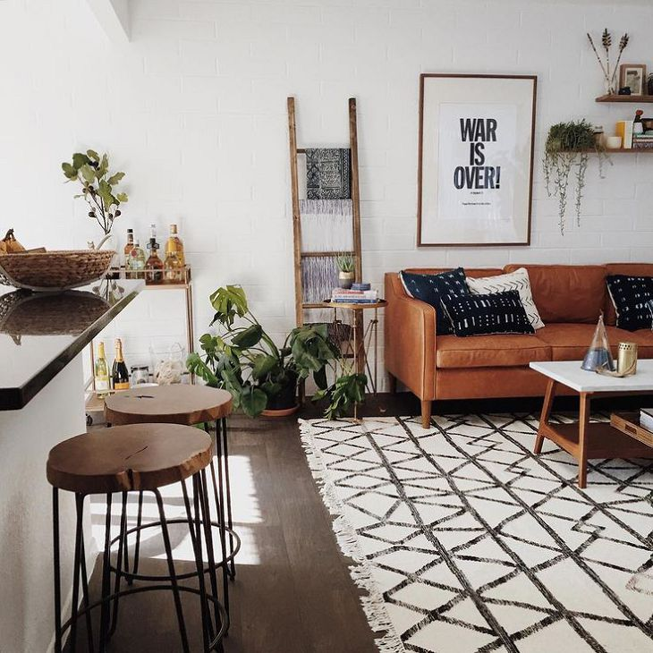 8 Clever Small Living Room Ideas With Scandi Style: Appealing Minimalist Living Room Scandinavian Modern