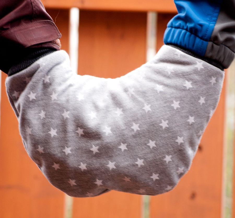 Handschuh nähen, Schnittmuster Partnerhandschuh, Partnerhandschuh ...
