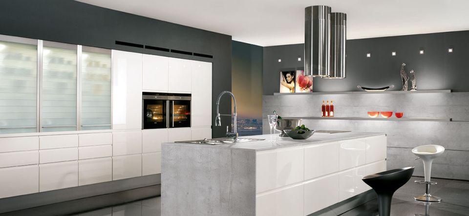 Design Küche in Tiefblau Softmatt - Marquardt Küchen | Ideen Haus ...