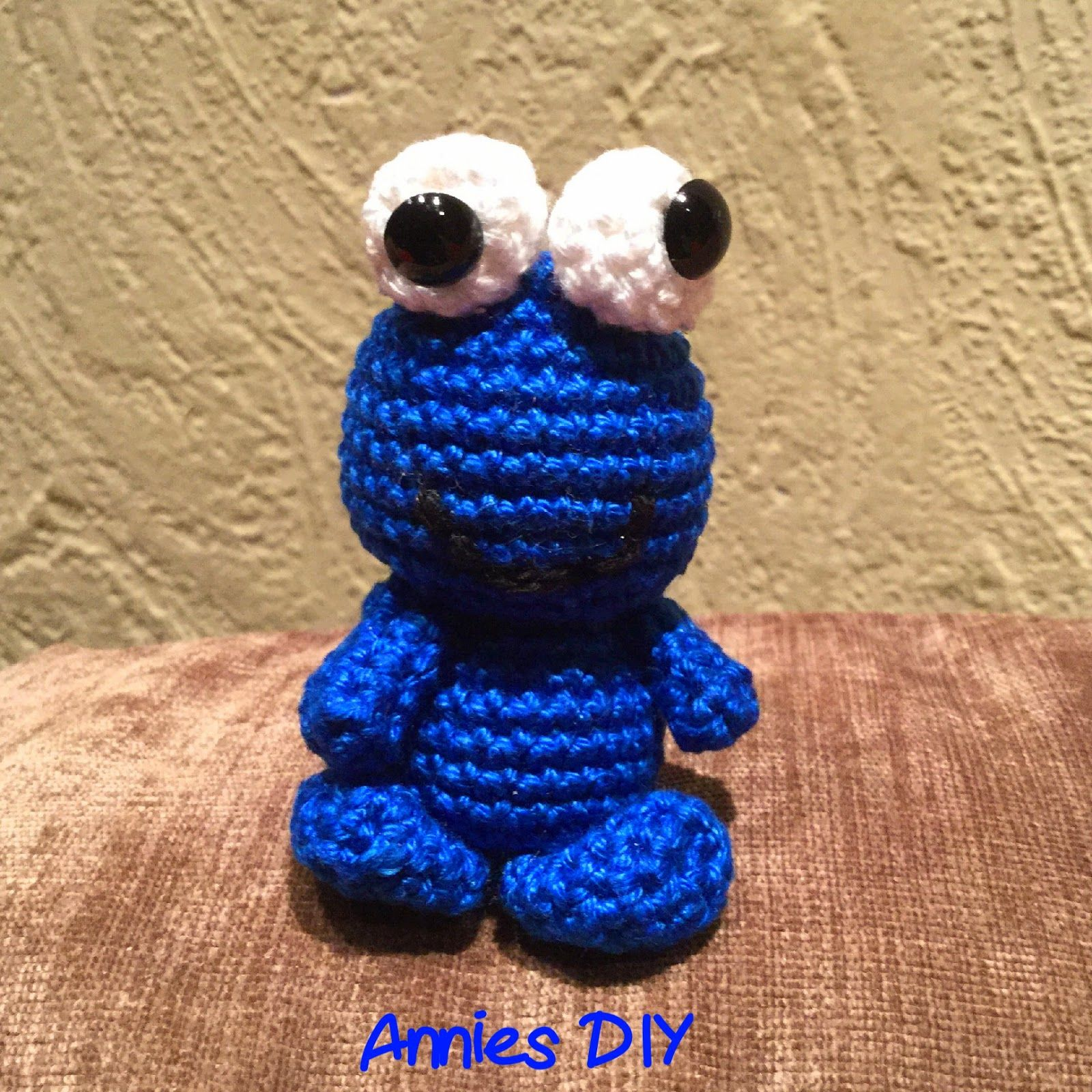 Annies Diy Amigurumi Krümelmonster Häkeln Crochet Cookie Monster