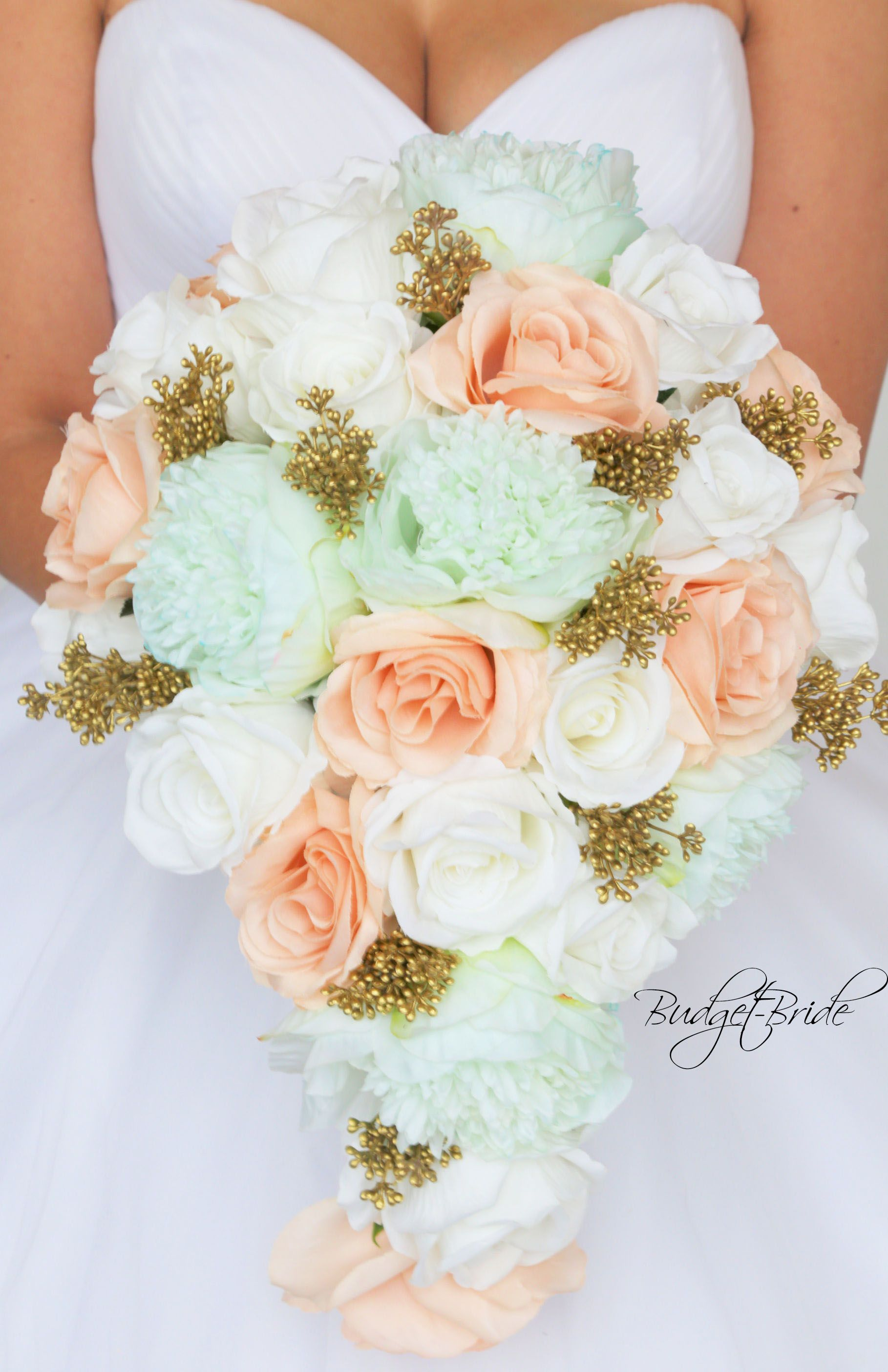 Mint Green Davids Bridal Wedding Flowers Destinationdollgener In