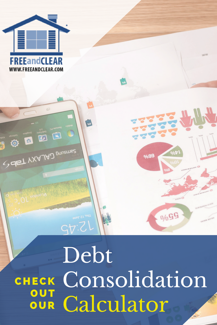 Second mortgage calculator refinance & consolidation.
