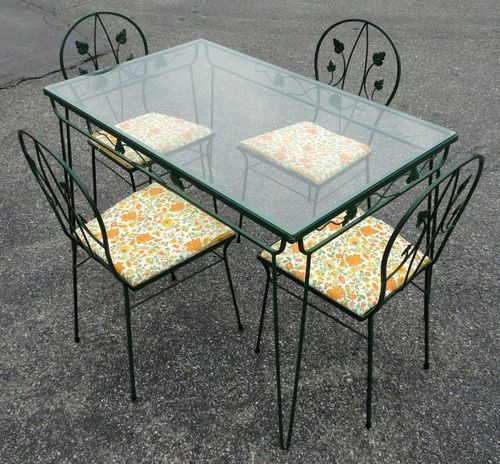 Salterini Table And Chairs Offered On Ebay For 374 99