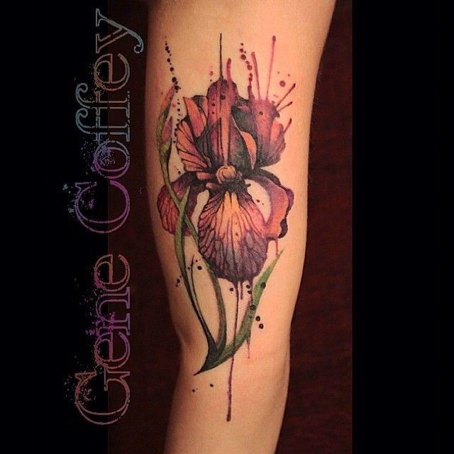 Die besten 25 aquarell orchidee tattoo ideen auf pinterest orchideenbl tentattoos orchideen - Orchideen tattoo vorlage ...