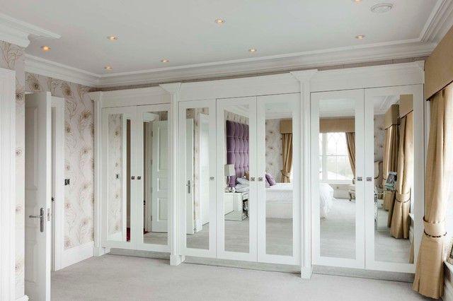 Attractive White Master Bedroom Closet Ideas in the Contemporary ...