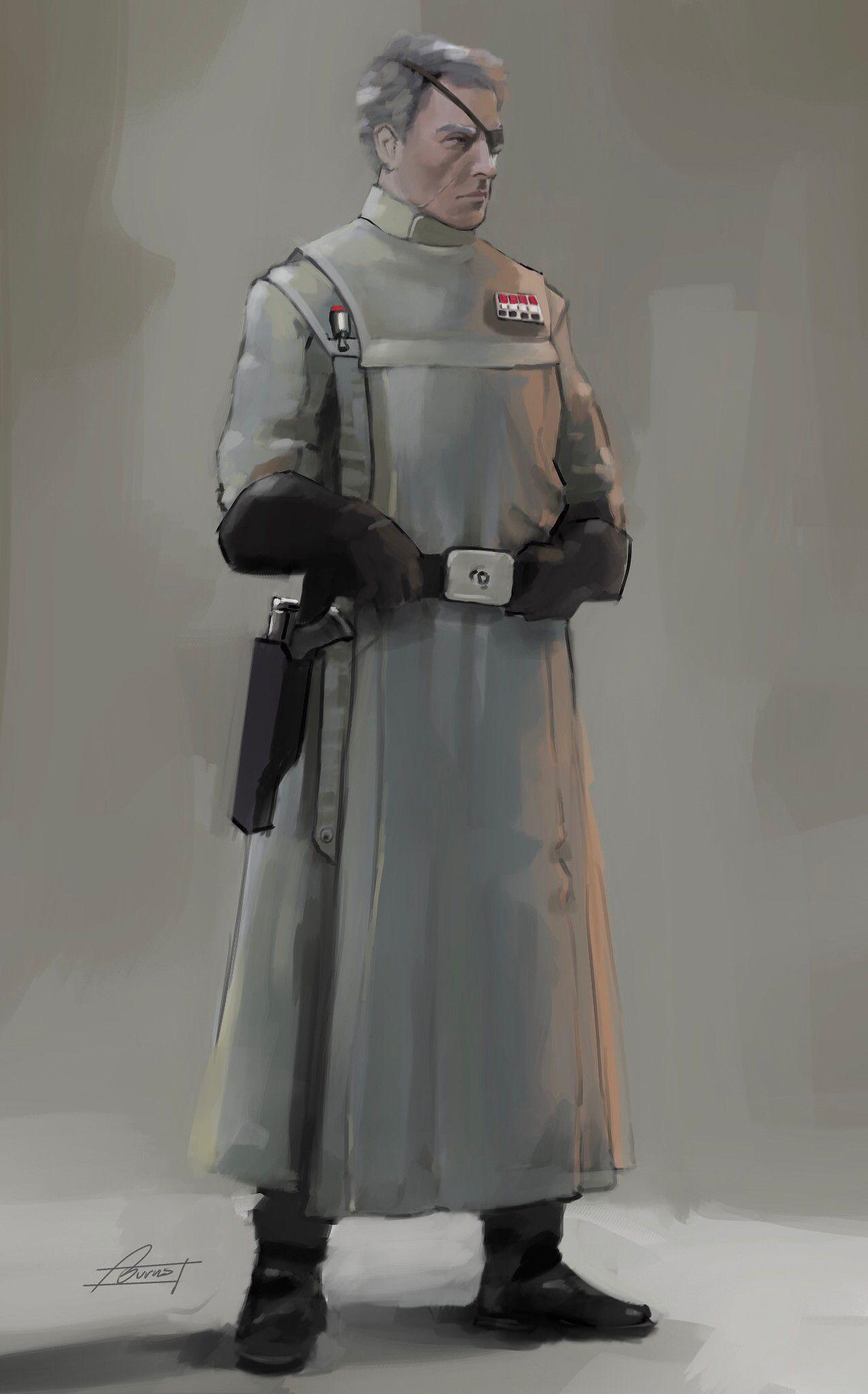 Concept Art Form Comic Star Wars Character
