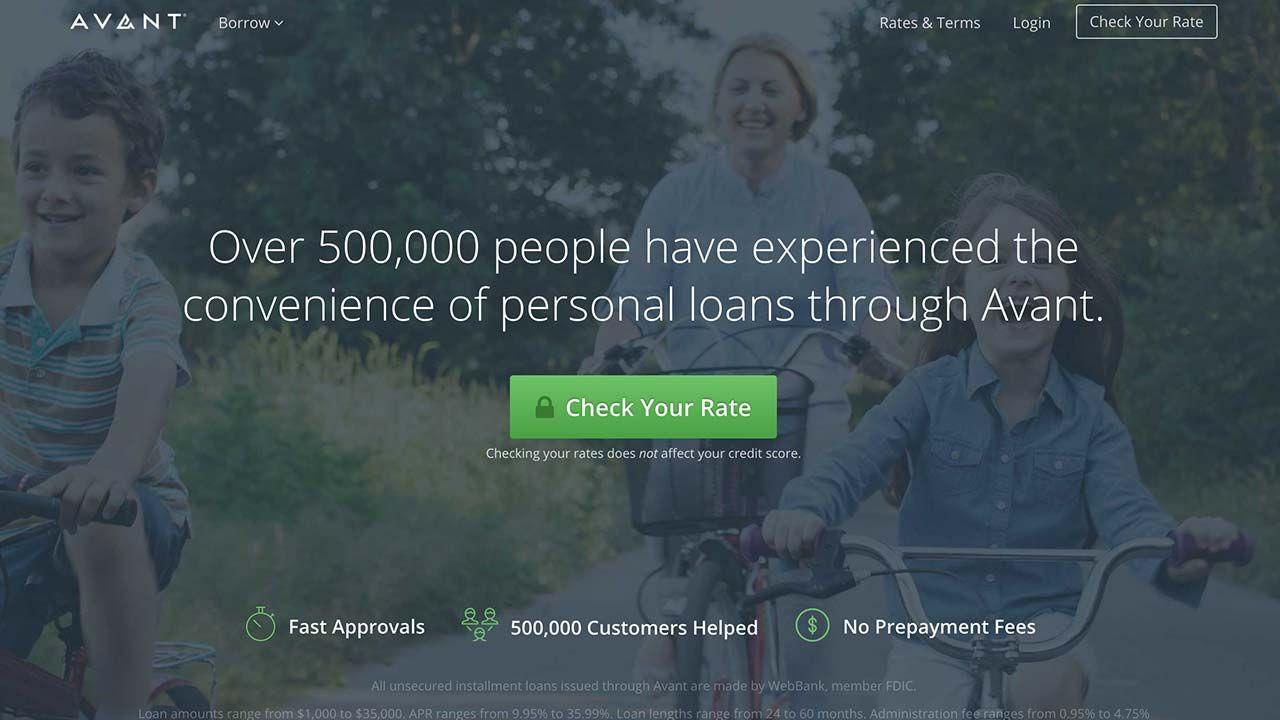 Refinance Avant Loan