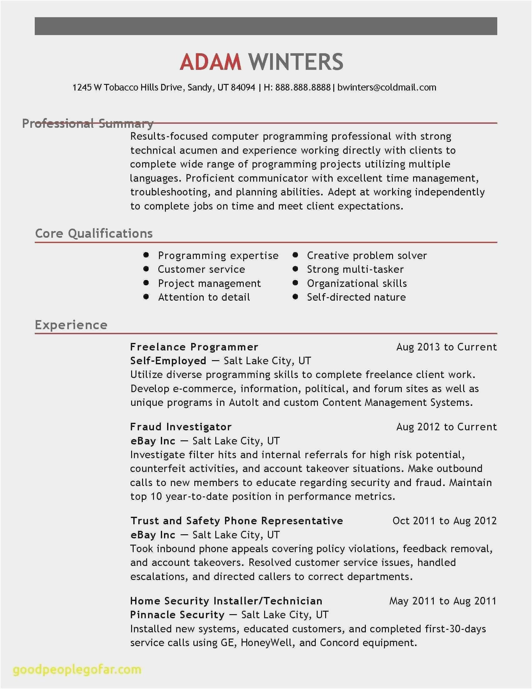 30 Time Management Skills Resume Best Resume Template Resume