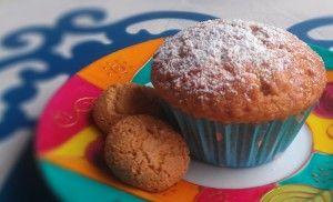 Muffin con yogurt e amaretti