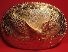 Hand Made AWESOME EAGLE Belt Buckle MAKER MARKED Heavy USA Made MAKE OFFER! $97.00 or Best Offer Free shipping