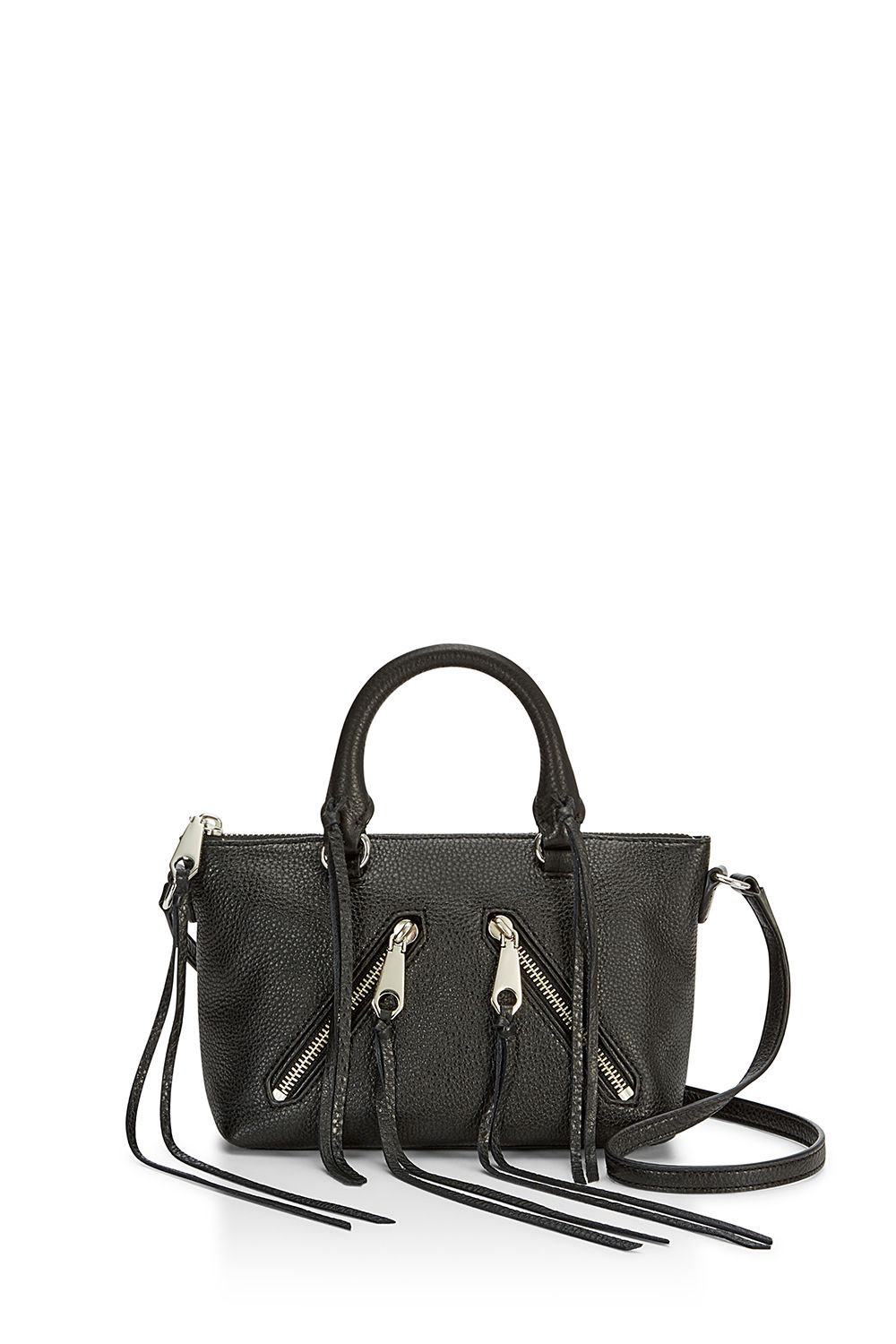 99acb0aeb9 Most Loved Handbags On Sale, Soft Leather, Rebecca Minkoff, Wearing Black,  Shoulder