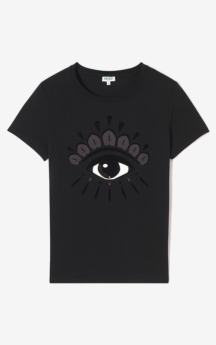 BLACK EYE T-shirt for women KENZO   Teens  And The Young At Heart ... 353601cd886