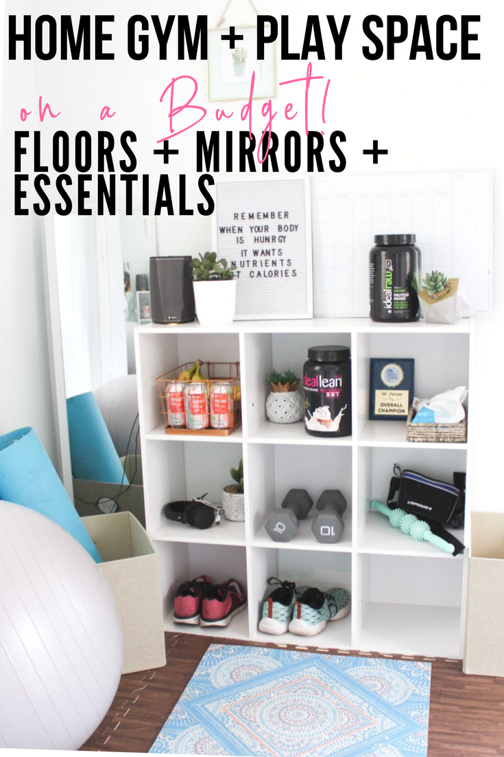 My Home Gym + Play Space On A Budget -   19 fitness Room mall ideas