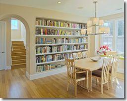 Built-in Bookshelves | Bookshelf Design Ideas for Bedroom, Stairs & Kitchen  | Mr