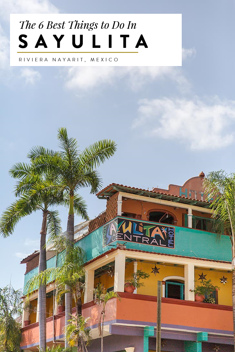 The Ultimate Travle Guide to Sayulita. Mexico's Riviera Nayarit is great for travelers looking for authentic Mexican food and restaurants, bohemian boutiques and amazing tequila. Here's everything to do, recommendations for restaurants and activities like surfing.