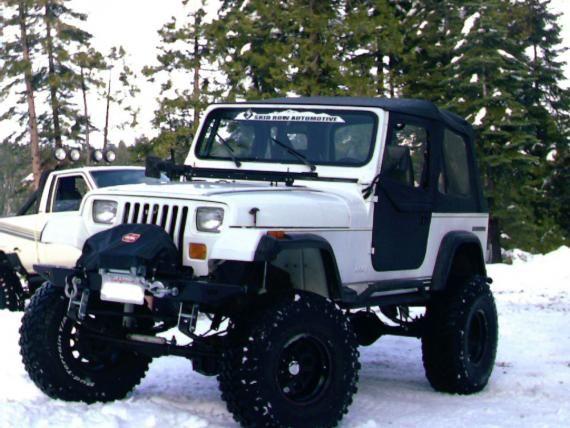 Black Yj Jeep Yj Jeep Jeep Wrangler Yj