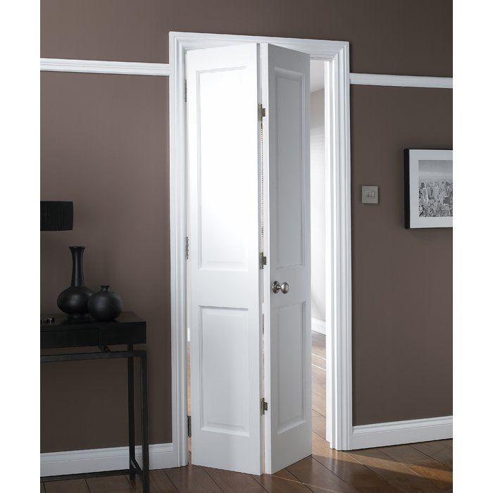 Avesta Hollow Panelled Mdf Bi Fold Doors In 2020 Folding Bathroom Door Internal Doors Concertina Doors