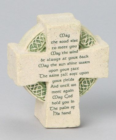 Take a look at this Celtic Cross Plaque by Roman, Inc. on #zulily today!
