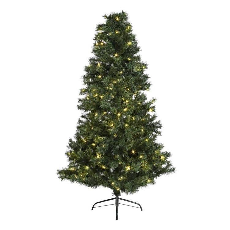 Jolly Joy Pre Lit Tree With Lights Green Christmas Tree Pre Lit Christmas Tree White Christmas Trees