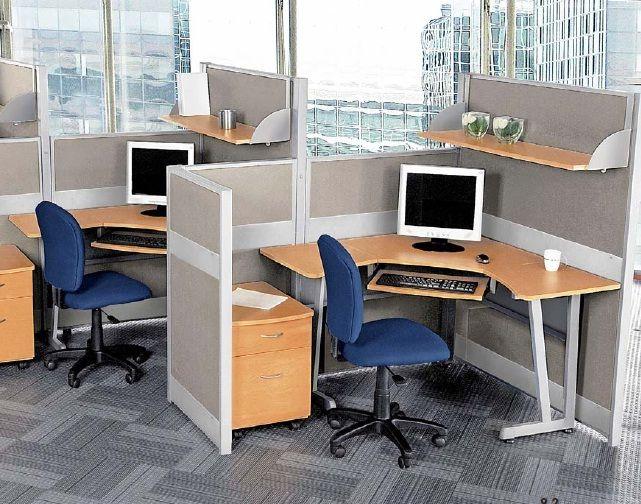 Diseno De Muebles Para Oficina.Estacion De Trabajo Tipo Cubiculo Italia 1 Estacion De Trabajo