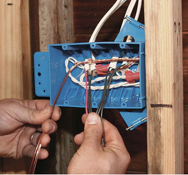 An electrician walks you through step-by-step on how to wire a switch box