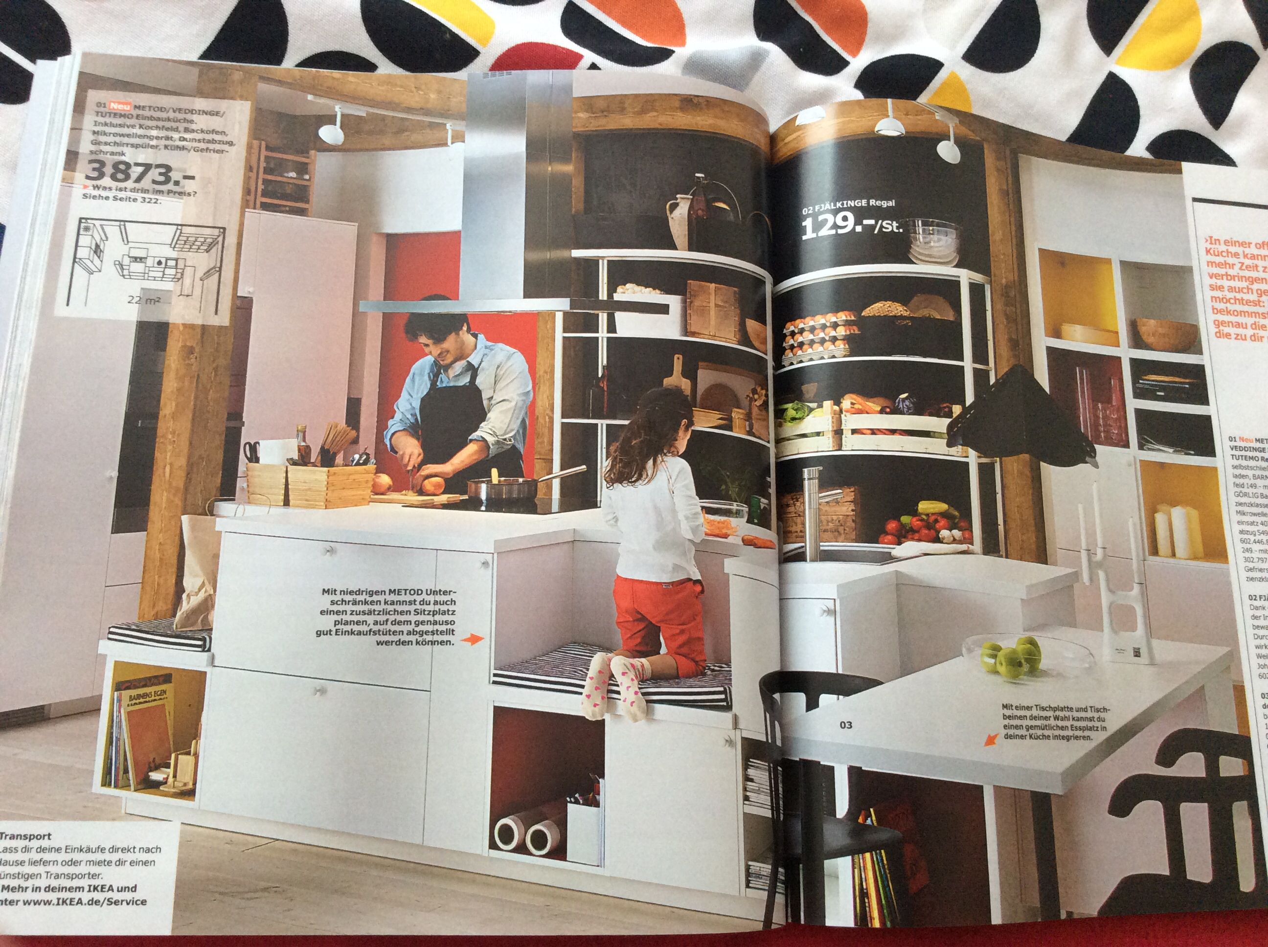Kuche Ikea Regal Kochinsel In Kleine Kuche Modern Offen Ikea Faktum