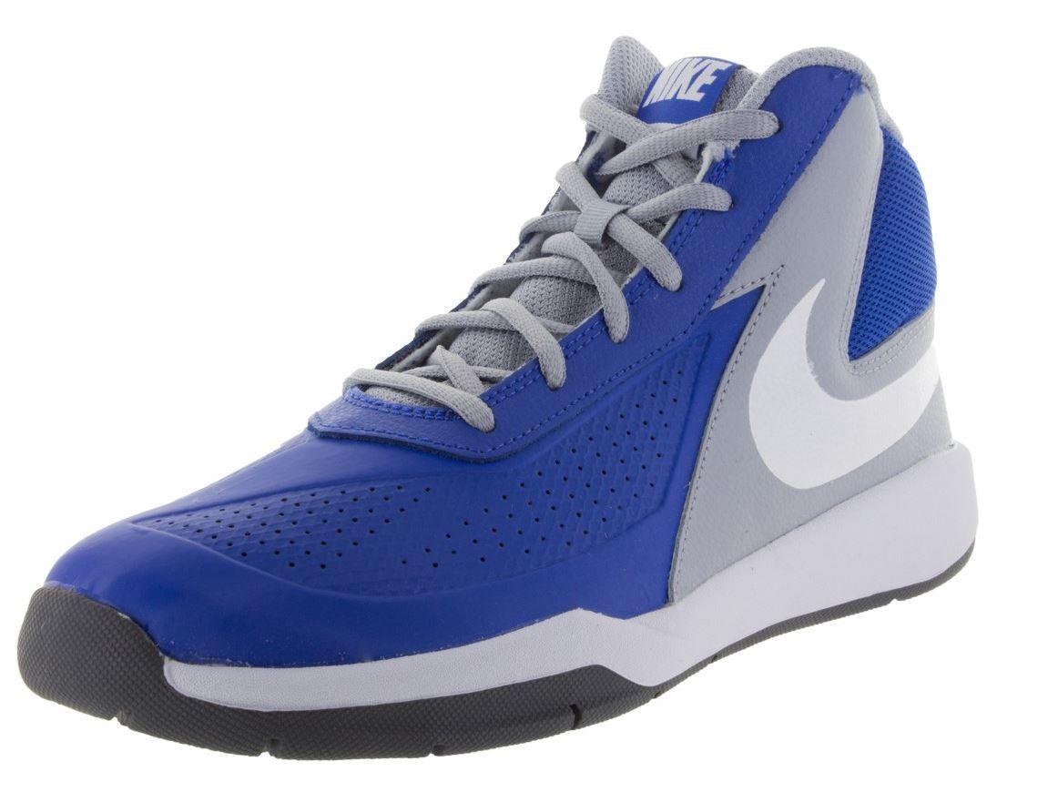 NIKE TEAM Hustle D 7 (GS) Kid's Shoes 747998 400 Sz 4-7 Fast Shipping KS