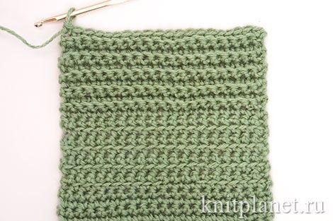 разные способы вязания столбиков без накида от умения к мастерству