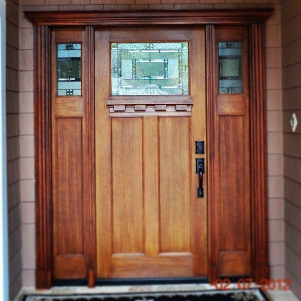 Fir Grain Door Installed In FL By Heckards Doors Specialties