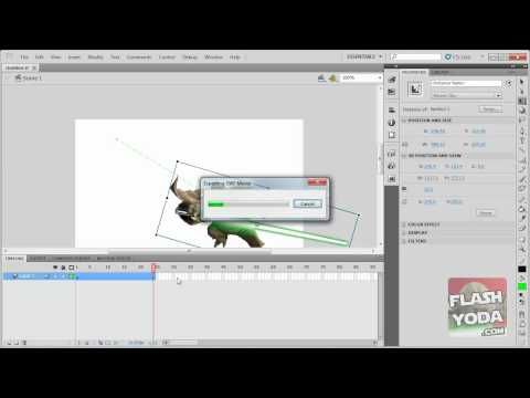 flash cs5 tutorial basic motion tween adobe flash adobe rh pinterest com Adobe Flash CS5 Panels Photshop CS5