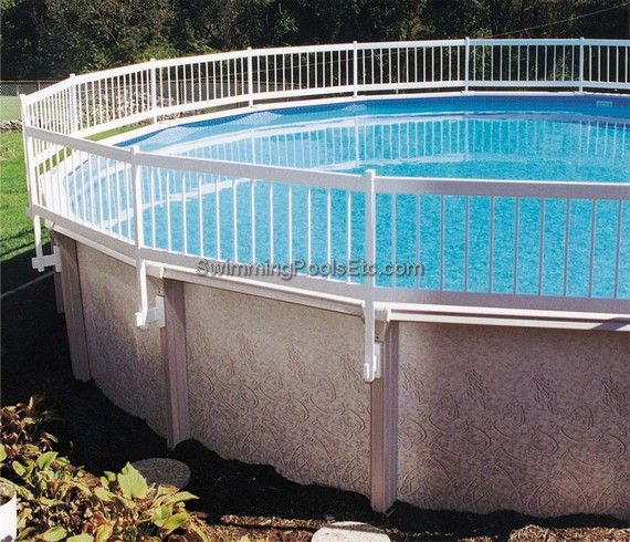 Safety Pool Fencing Above Ground Pool Fence Backyard Pool Landscaping Pool Landscaping