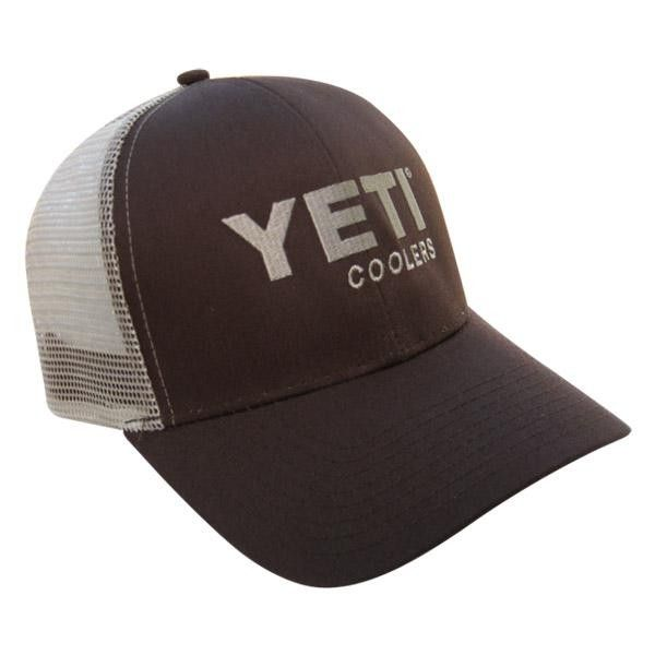 ece4e6189d6f9 Brown YETI Coolers Brown Traditional YETI Trucker Hat